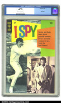 Silver Age (1956-1969):Adventure, I Spy #5 (Gold Key, 1968) CGC NM 9.4 Off-white to white pages. Overstreet 2002 NM 9.4 value = $175....