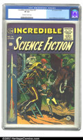 Golden Age (1938-1955):Science Fiction, Incredible Science Fiction #31 (EC, 1955) CGC VF 8.0 Off-white towhite pages. Wood, Williamson & Krenkel art. Overstreet 20...