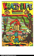 Golden Age (1938-1955):Funny Animal, KrazyLife #1 (Fox, 1945). F/VF....
