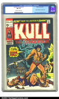 Bronze Age (1970-1979):Miscellaneous, Kull the Conqueror #1 (Marvel, 1971) CGC NM 9.4 Off-white to whitepages. Origin of Robert E. Howard's Kull; Ross Andru and ...