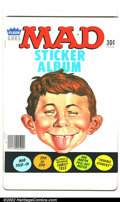 Modern Age (1980-Present):Humor, Mad Sticker Album #nn Gaines file copy (EC, 1983). With certificateof authenticity. VF/NM....