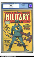 Golden Age (1938-1955):War, Military Comics #21 Pennsylvania pedigree (Quality, 1943).CGC NM-9.2 Off-white to white pages. Reed Crandall art. Overstree...