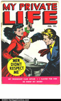 Golden Age (1938-1955):Romance, My Private Life #16 (Fox, 1950). First issue. FN-....