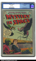 Golden Age (1938-1955):Science Fiction, Mystery in Space #7 Bethlehem pedigree (DC, 1952) CGC VF 8.0Off-white to white pages. Carmine Infantino art. Overstreet 200...
