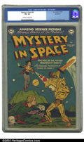Golden Age (1938-1955):Science Fiction, Mystery in Space #8 Bethlehem pedigree (DC, 1952) CGC FN- 5.5Off-white to white pages. Anderson and Infantino art. Overstre...