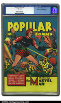 Golden Age (1938-1955):Miscellaneous, Popular Comics #59 Mile High pedigree (Dell, 1941) CGC NM 9.4 Off-white to white pages. Overstreet 2002 NM 9.4 value = $225....