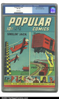 Golden Age (1938-1955):Miscellaneous, Popular Comics #64 Mile High pedigree (Dell, 1941) CGC VF 8.0 Off-white pages. Overstreet 2002 VF 8.0 value = $110. ...