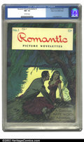 Golden Age (1938-1955):Romance, Romantic Picture Novelettes #1 Mile High pedigree (MagazineEnterprises, 1946) CGC NM- 9.2 Off-white pages. Overstreet 2002 ...