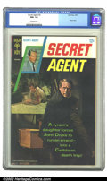 Silver Age (1956-1969):Adventure, Secret Agent #2 (Gold Key, 1968) CGC NM- 9.2 Off-white pages. Overstreet 2002 NM 9.4 value = $95....