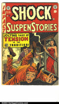 Golden Age (1938-1955):Horror, Shock SuspenStories #10 (EC, 1953) Condition: G/VG. ...