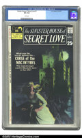 Bronze Age (1970-1979):Romance, Sinister House of Secret Love #1 (DC, 1971) VG+ 8.5 White pages.Overstreet 2002 VF 8.0 value = $105. ...