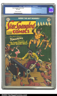 Star Spangled Comics #109 (DC, 1950) CGC VF 8.0 Off-white to white pages. Fred Ray cover. Overstreet 2002 VF 8.0 value =...