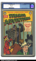 Golden Age (1938-1955):Science Fiction, Strange Adventures #8 (DC, 1951).CGC NM- 9.2 Off-white pages.Anderson, Kane and Toth art. Overstreet 2002 NM 9.4 value = $1...