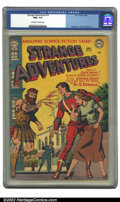 Golden Age (1938-1955):Science Fiction, Strange Adventures #19 (DC, 1952).CGC NM+ 9.6 Off-white to whitepages. Anderson, Toth and Kane art. Overstreet 2002 NM 9.4 ...