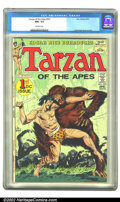 Bronze Age (1970-1979):Miscellaneous, Tarzan #207 (Dell, 1972) CGC NM+ 9.6 Off-white pages. Overstreet2002 NM 9.4 value = $45....