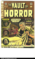 Golden Age (1938-1955):Horror, Vault of Horror #24 (EC, 1952) Condition: G/VG. ...