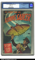 Golden Age (1938-1955):Science Fiction, Vic Torry & His Flying Saucer #nn Rockford pedigree (Fawcett,1950) CGC FN/VF 7.0 Cream to off-white pages. Bob Powell art. ...
