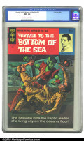 Silver Age (1956-1969):Adventure, Voyage to the Bottom of the Sea #15 (Gold Key, 1969) CGC NM+ 9.6 Off-white to white pages. Overstreet 2002 NM 9.4 value = $3...