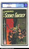 Golden Age (1938-1955):Science Fiction, Weird Science-Fantasy #29 (EC, 1955) CGC FN 6.0 Off-white to whitepages. Classic Frank Frazetta cover; Last pre-code issue;...