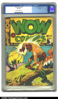 Golden Age (1938-1955):Superhero, Wow Comics (Canadian) #29 Rockford pedigree (Bell Features, 1944)CGC VF 8.0 Off-white to white pages. Not listed in Overstr...