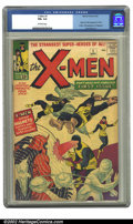Silver Age (1956-1969):Superhero, X-Men #1 (Marvel, 1963) CGC FN+ 6.5 Off-white pages. Origin andfirst appearance of the X-Men; First appearance of Magneto; ...