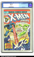 Bronze Age (1970-1979):Miscellaneous, X-Men #93 (Marvel) CGC NM 9.4 Off-white pages. Overstreet 2002 NM9.4 value = $40....