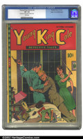 Golden Age (1938-1955):Adventure, Young King Cole V2 #2 Mile High pedigree (Novelty Press, 1946) CGC VF- 7.5 White pages. Very minor amount of glue on spine o...