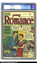 Golden Age (1938-1955):Romance, Young Romance Comics #5 Rockford pedigree (Prize, 1948) CGC VF+ 8.5Cream to off-white pages. Overstreet 2002 VF 8.0 value =...