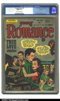 Golden Age (1938-1955):Romance, Young Romance Comics #8 Rockford pedigree (Prize, 1948) CGC FN/VF7.0 Cream to off-white pages. Simon and Kirby cover and ar...