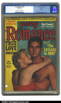 Golden Age (1938-1955):Romance, Young Romance Comics #22 Rockford pedigree (Prize, 1950) CGC FN-5.5 light tan to off-white pages. Overstreet 2002 FN 6.0 va...