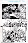 Original Comic Art:Panel Pages, Jerry Ordway and Paul Ryan - Original Art from Maximum Security #1Fin-Fang Foom (Marvel, 2001). Outstanding page by Ordway ...
