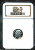 Proof Roosevelt Dimes: , 1955 10C PR 68 Cameo NGC. ...