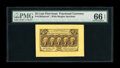 Fractional Currency:First Issue, Fr. 1282SP 25¢ First Issue Wide Margin Face PMG Gem Uncirculated 66EPQ. A great looking example on the lighter lemon-colore...