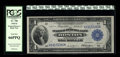 Fr. 708 $1 1918 Federal Reserve Bank Note PCGS Gem New 66PPQ. A handsome note with broad margins and pronounced paper or...