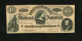"""Confederate Notes:1864 Issues, CT65/491 """"Havana Counterfeit"""" $100 1864. This is a nice example of this famous counterfeit that has plate letter D, written ..."""