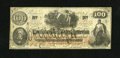 Confederate Notes:1862 Issues, CT41 $100 1862. This contemporary counterfeit has COUNTERFEITpenned across the face. It is perfectly original and solid for...