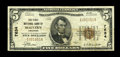 Malvern, AR - $5 1929 Ty. 1 The First NB Ch. # 7634 A scarce note from this elusive one bank location. Nice Fine-Very