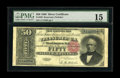 Large Size:Silver Certificates, Fr. 329 $50 1880 Silver Certificate PMG Choice Fine 15. Fewer than30 examples of this number are known--most of which are r...