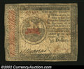 Colonial Notes:Continental Congress Issues, Continental Currency January 14, 1779 $35 Very Fine. A ...