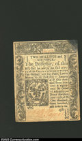 Colonial Notes:Connecticut, June 19, 1776, 2s/6d, Connecticut, CT-211, AU. This is a very ...