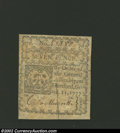 Colonial Notes:Connecticut, October 11, 1777, 7d, Connecticut, CT-218, VF. A well ...