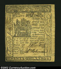 Colonial Notes:Delaware, Delaware May 1, 1777 20s Extremely Fine This is a fare ...