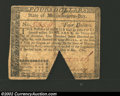 Colonial Notes:Massachusetts, May 5, 1780, $4, Massachusetts, MA-281, XF. This note has a ...