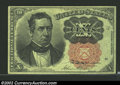Fractional Currency:Fifth Issue, Fifth Issue 10c, Fr-1265, Choice-Gem CU. Long key variety. ...