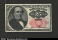 Fractional Currency:Fifth Issue, Fifth Issue 25c, Fr-1308, Gem CU. Long key variety with a ...
