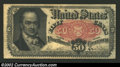 Fractional Currency:Fifth Issue, Fifth Issue 50c, Fr-1381, XF. A nice Crawford note with a ...