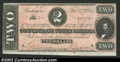 Confederate Notes:1864 Issues, 1864 $2 Judah P. Benjamin, T-70, Choice CU. This note has ...