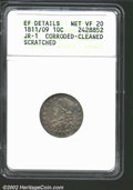 Bust Dimes: , 1811/09 10C--Corroded, Cleaned, Scratched--ANACS. XF ...