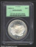 Seated Dollars: , 1846-O $1 VF20 PCGS. Gunmetal-gray surfaces with deeper ...