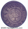 1652 SHILNG Pine Tree Shilling, Small Planchet AU58 PCGS. Noe-7-16, R.2. 72.5 grains. Medium gray with somewhat lighter...